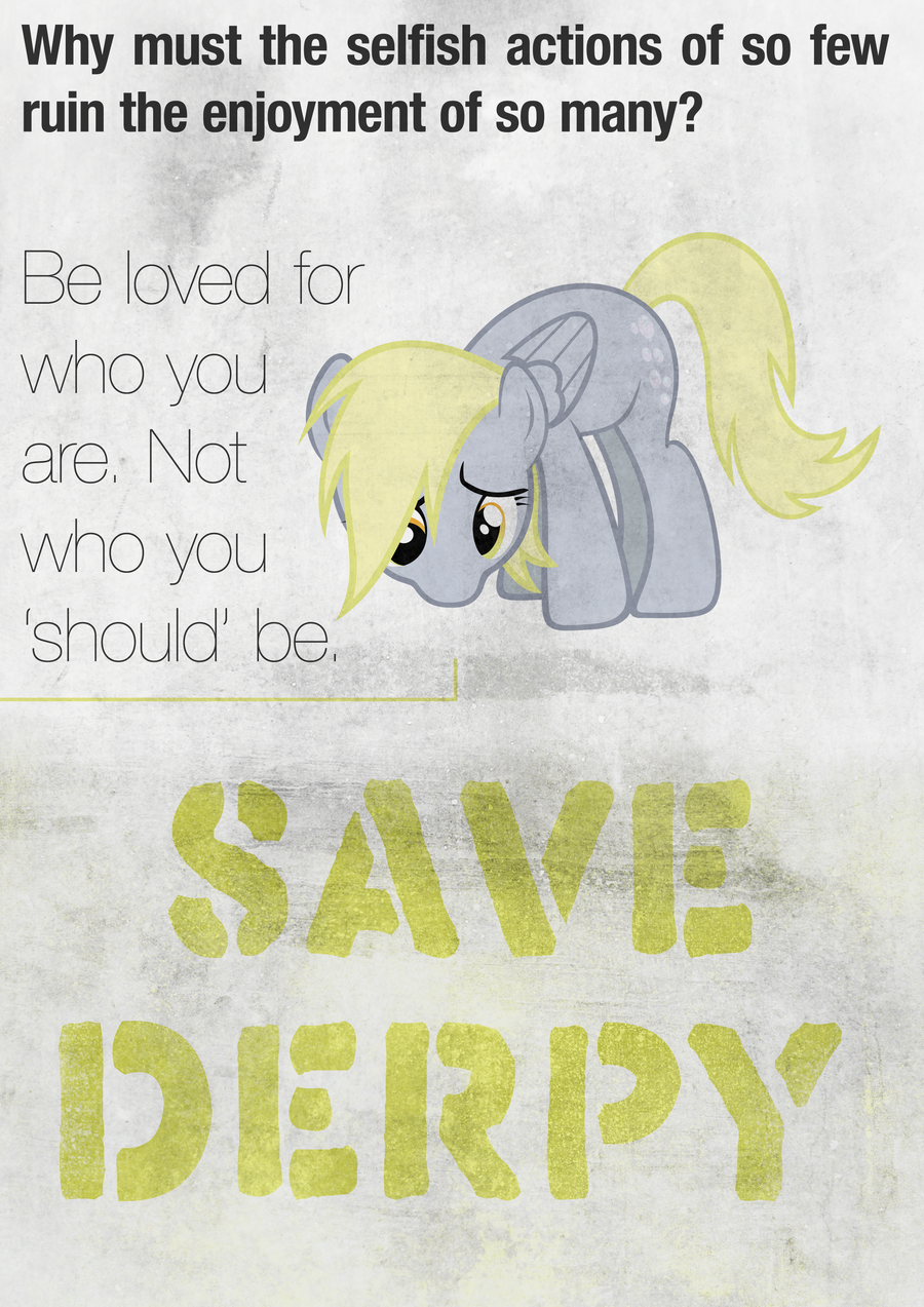 Save Derpy Hooves' Name and Voice